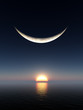 Smile Moon Sunrise