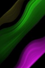 Abstrakte farbige Objekte