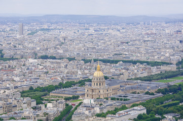 View from the Montparnasse Tower - Paris, France