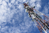 Telecommunications tower poster