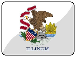drapeau illinois flag