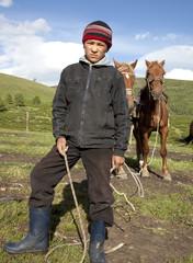 Kazakh boy