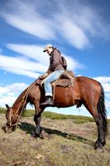 traveling on horseback