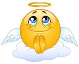 Fototapety Angel emoticon