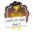 sarcastic pilgrim turkey