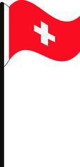 Flaggenmast Schweiz