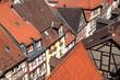 Dächer Kleinstadt Altstadt Franken Deutschland