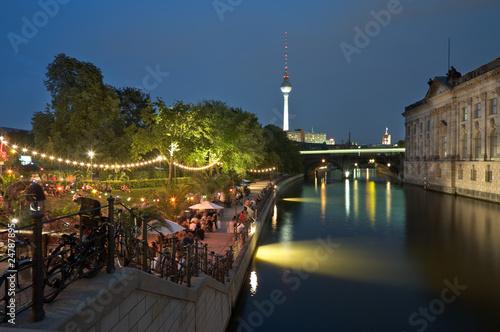 Berlin Strandbar Nacht