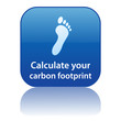 """CALCULATE YOUR CARBON FOOTPRINT"" Web Button (go green recycle)"
