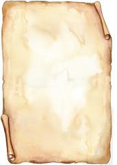 Antica pergamena color seppia