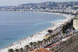 Bay of Angels at Nice. Cote d'Azur. France