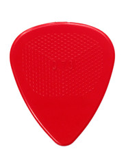 Guitar plectrum closeup isolated on white #1