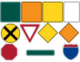 Road Signs Set 1 - 24796641