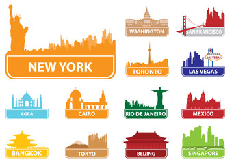 Symbols city