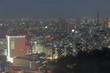 Tokio City at nighttime