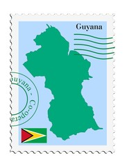 mail to/from Guyana