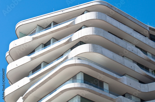 Moderne architektur in hamburg von thorabeti lizenzfreies for Moderne architektur hamburg