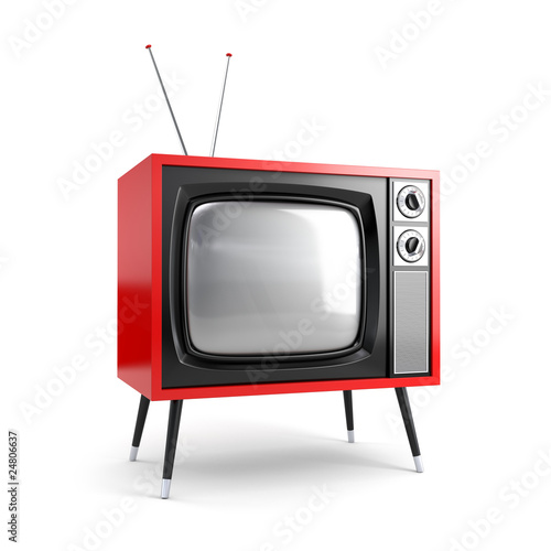 Stylish retro TV - 24806637