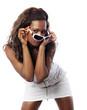 jeune femme africaine sensuelle