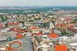 Leipzig von oben mit Thomaskirche