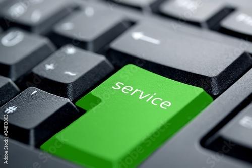service grüne taste - 24813803