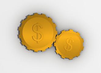 Engranajes del dinero