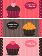 cupcake banners
