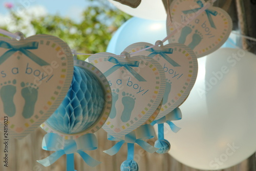 baby shower-decoration - 24816023