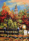 Fototapety Ancient Vitebsk in the autumn