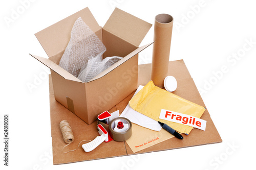 Packing items Poster