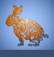 victorian bunny