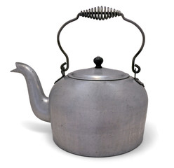 Old Metal Kettle Pot