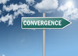 "Signpost ""Convergence"""