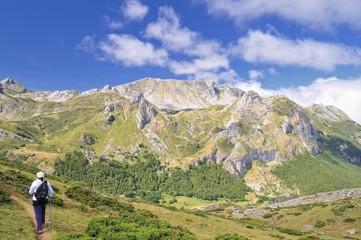 Por los montes de Asturias