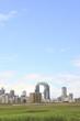 淀川から見る大阪北区
