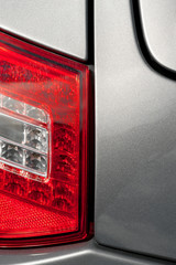 automobile tail light panel