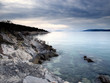 Gloomy Adriatic Sea