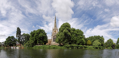 Stratford-upon-Avon panorama