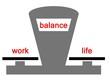 work life balance waage