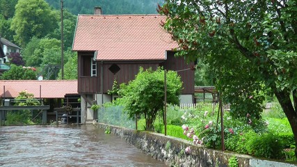 Wassermühle am Bach