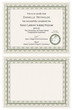 Master Gardener Certificate Template; illustration