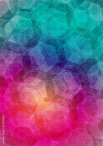 Abstract geometrical background - eps 10