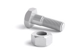 nut and bolt,three-dimensional granting