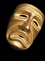 Classic mask of Tragedy