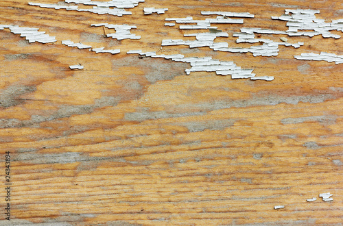Cracked wood background.