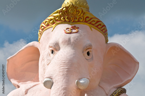 image of elephant-head god.