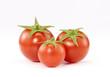 Provocativos tomates pequeños.
