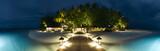 Ihuru Island panoramic view by night - 24853602