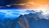 Fototapety blue Glacier