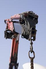 working crane telescopic
